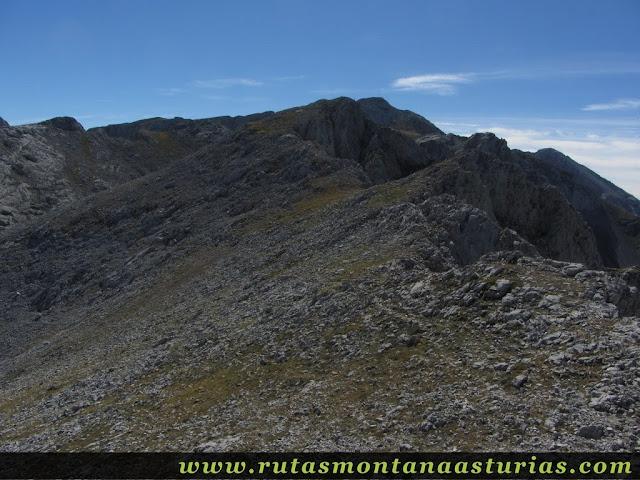 Ruta Jito Escarandi Cueto Tejao: Camino del Cueto Tejao al Boro