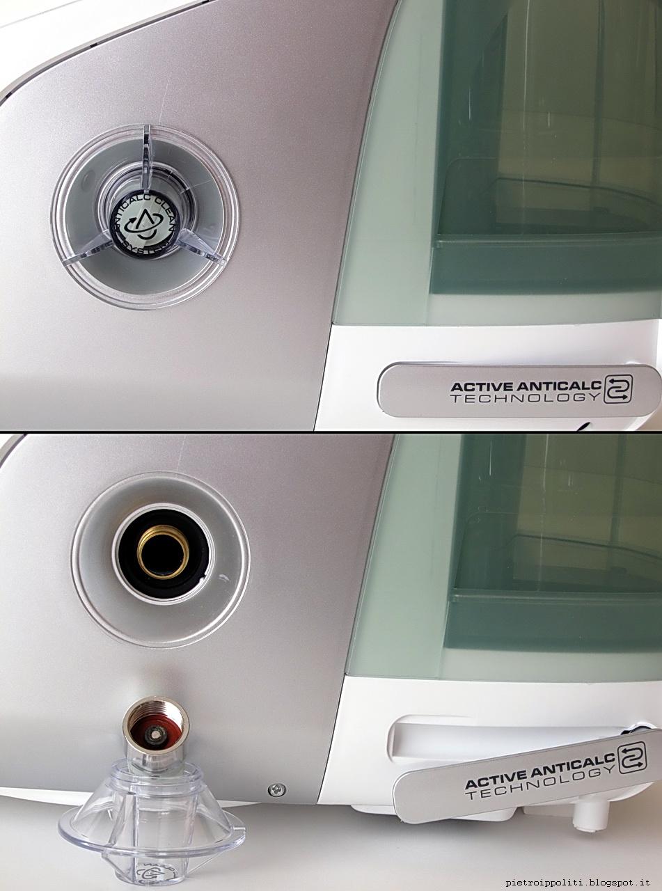 De Longhi Stirella VVX2370 DualVap, tappo caldaia