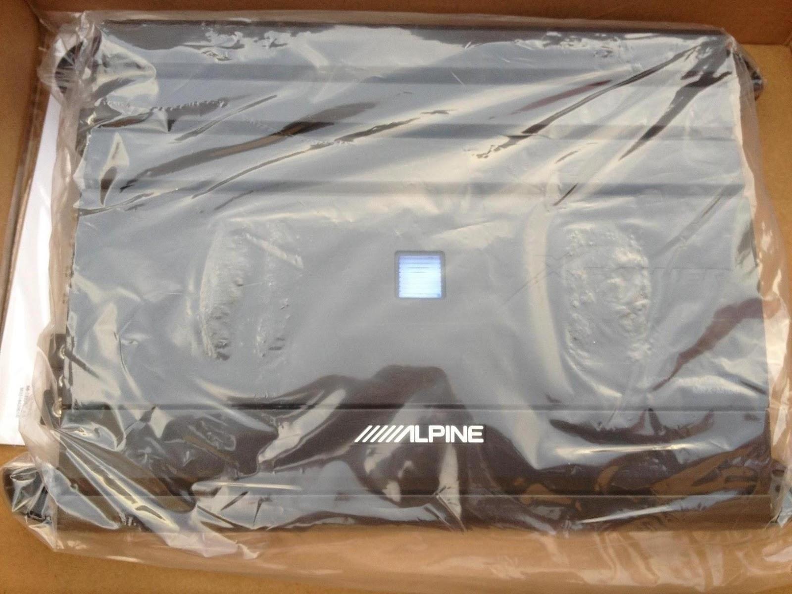 Demac Audio House: ALPINE MRX M100 1000W RMS MONOBLOCK CLASS