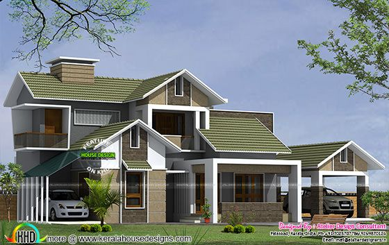 New remodeling house plan