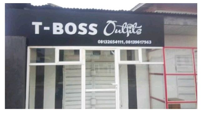 #BBNaija: T-Boss' Boutique Spotted in Warri (Photo) [Read Details]