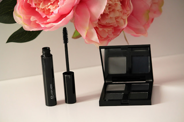 mascara e palette ombretti the body shop