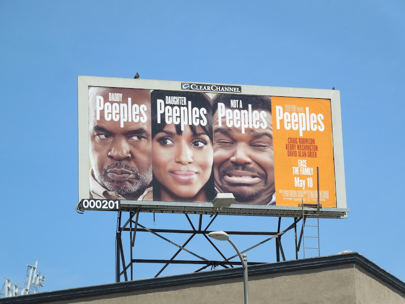 Peeples movie billboard