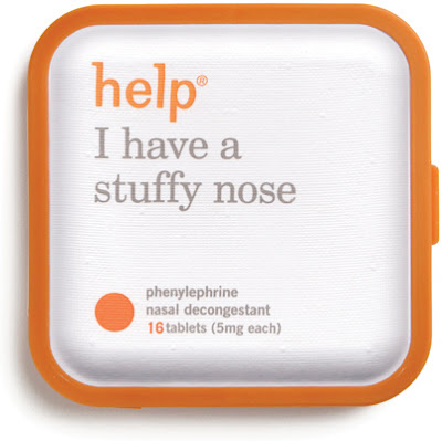help I have a stuffy nose - nasal decongestants