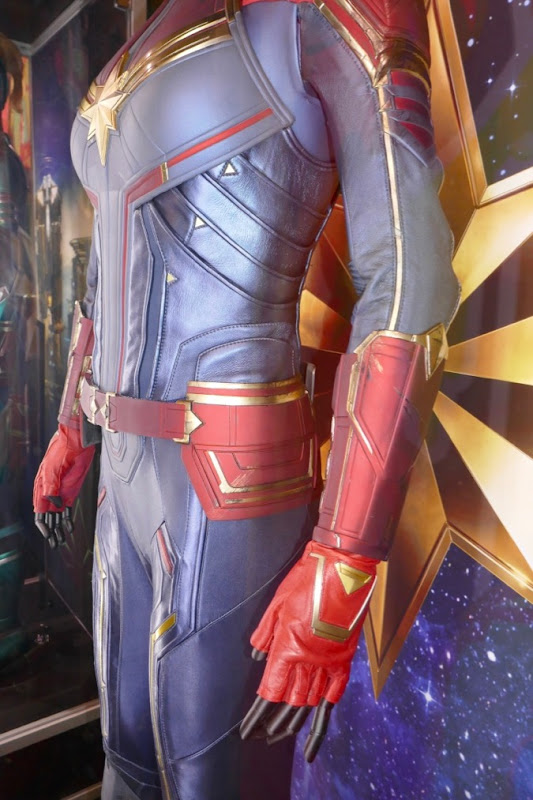 Captain Marvel film costume detail