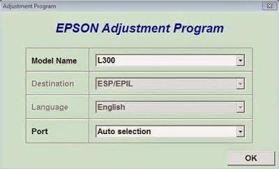 Reset printer Epson L300 waste ink pad counter (full pads) | en