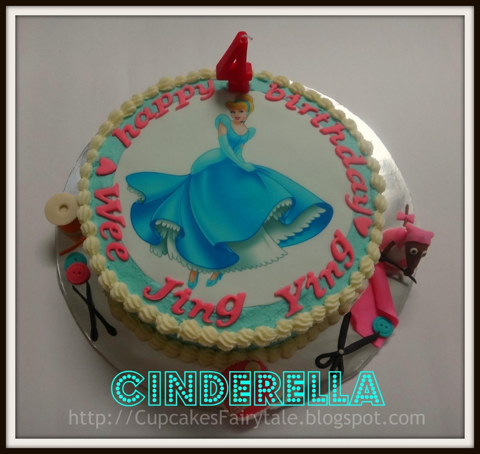 Cupcakes Fairytale Wee Jing Ying S Princess Cinderella