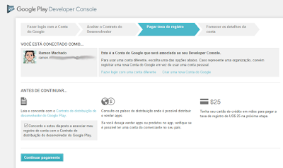 Como se registrar no Google Play - Imagem 2