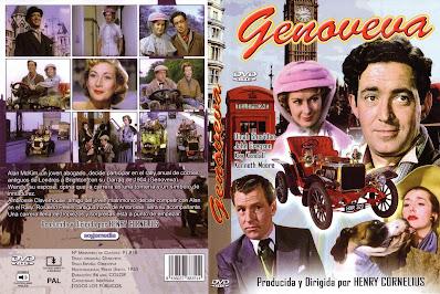 Carátula dvd: Genoveva (1953)