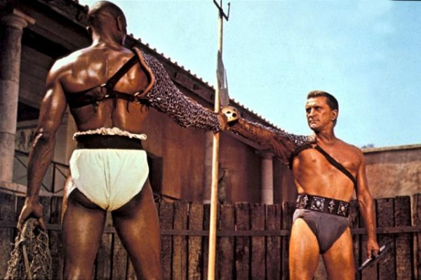 Kirk Douglas as Spartacus Spartacus (1960) movieloverreviews.filminspector.com