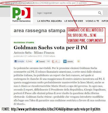 Illuminati Goldman sachs love Pd
