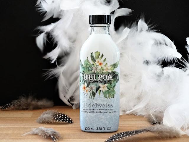 avis Heï Poa Edelweiss, monoï Heï Poa Edelweiss, monoï de tahiti Heï Poa, Edelweiss Heï Poa, laboratoires gilbert