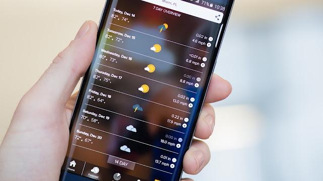 morecast ramy as عالم التقنيات أفضل برنامج للأندرويد أفضل برنامج للأيفون أفضل برنامج للطقس أفضل برنامج لمعرفة درجات الحرارة