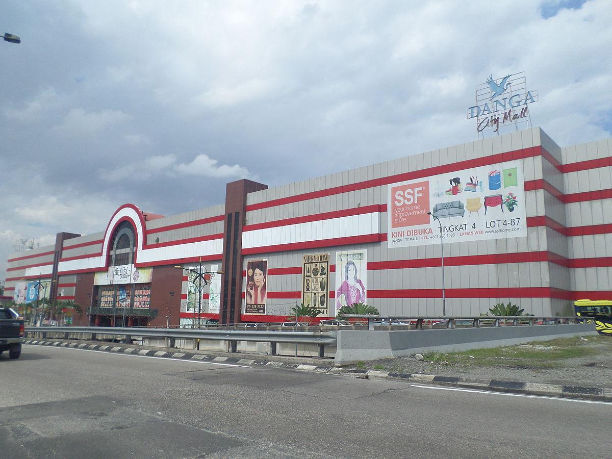 danga city mall, shopping mall best di johor bahru, tempat menarik di johor bahru