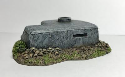 Observation Bunker with Tobruk