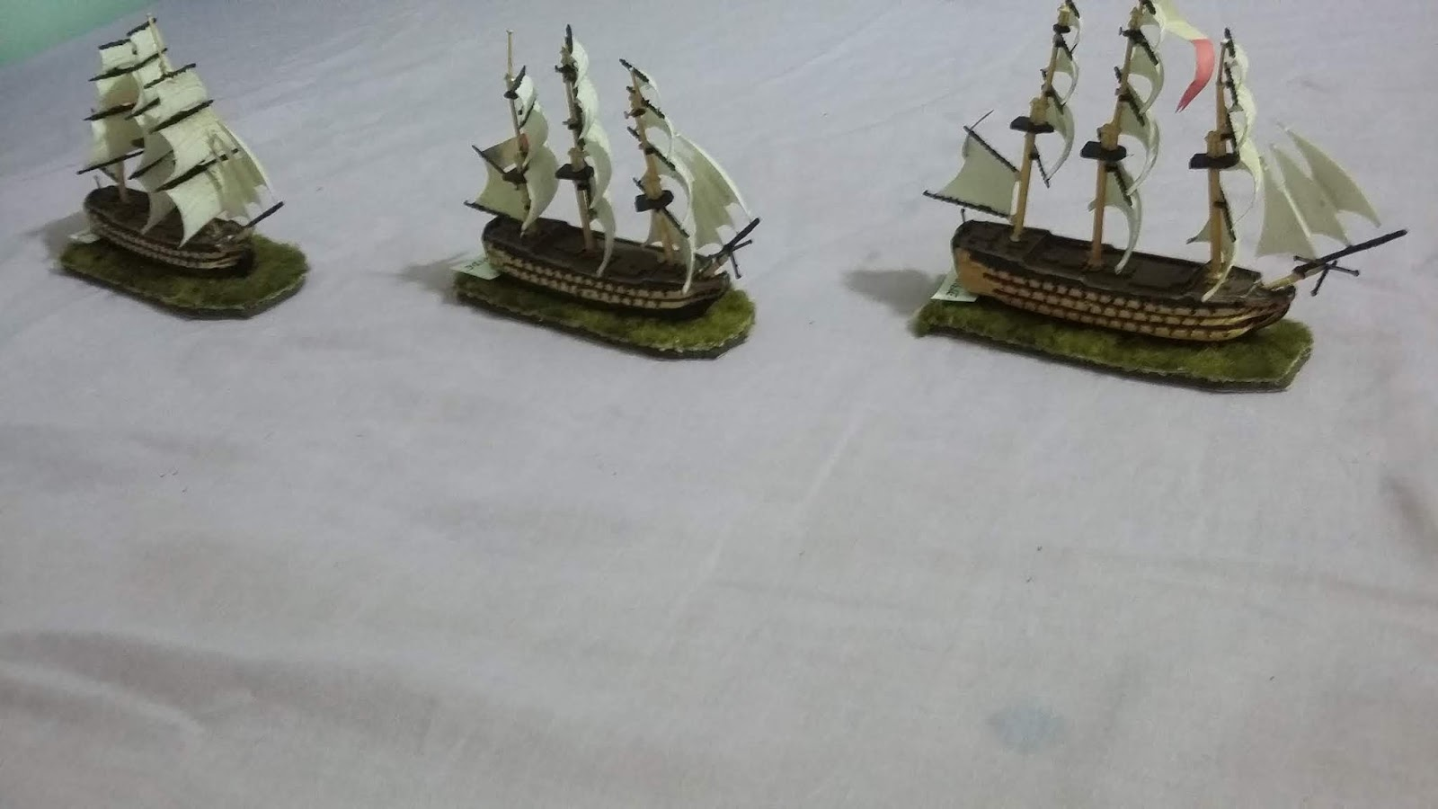 Light Bobs and Paint Blobs: Napoleonic Naval Wargaming