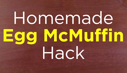 In gut einer Minute ein Egg McMuffin selber machen | Das morgige Frühstück ist gerettet