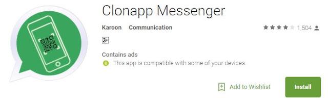 kenapa clonapp messenger tidak bisa dibuka