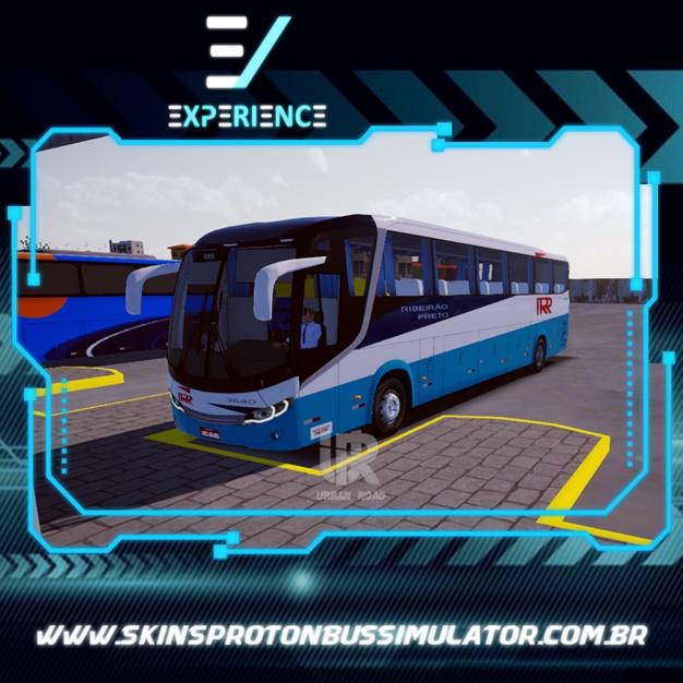 Skins Proton Bus Simulator Road - Comil Invictus MB O-500 RS Rápido Ribeirão Preto