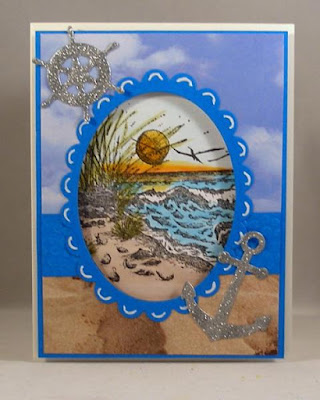 Our Daily Bread Designs, Shining the Light challenge entry, The Mighty Sea
