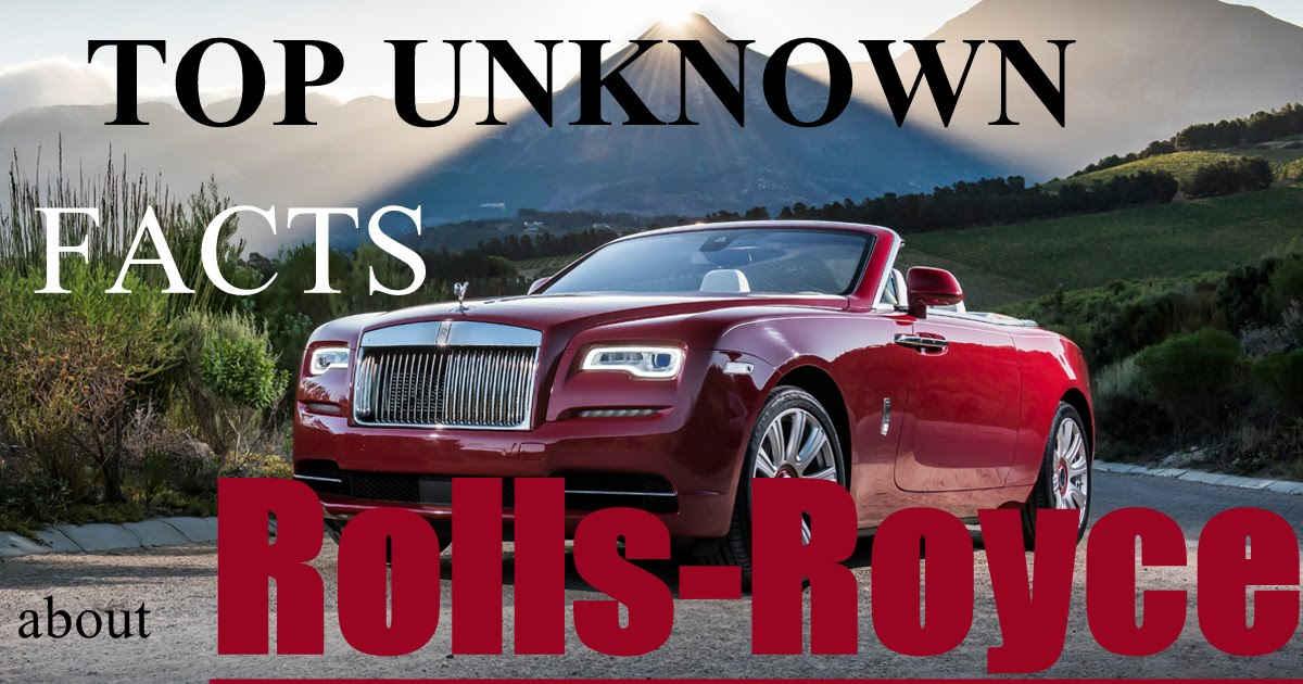 Auto Thunder Rolls Royce Top Unknown Facts About Luxury Car