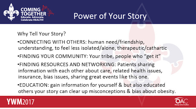 Patient Stories Advocacy  Why Tell Your Story  #YWM2017