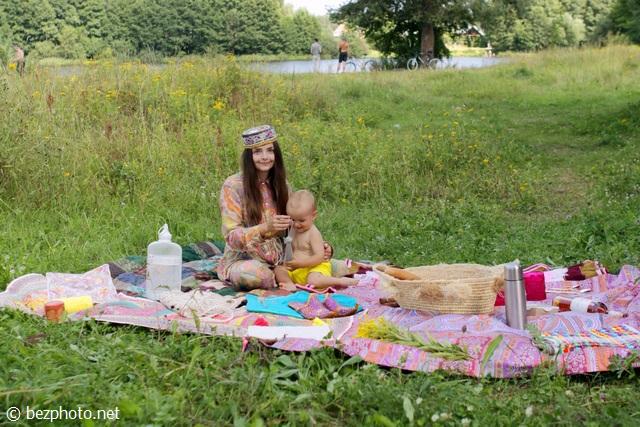 стильный пикник