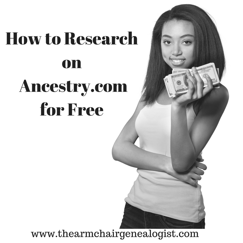 The Armchair Genealogist: How to Research on Ancestry com