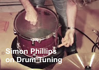 Simon Phillips on drum tuning image