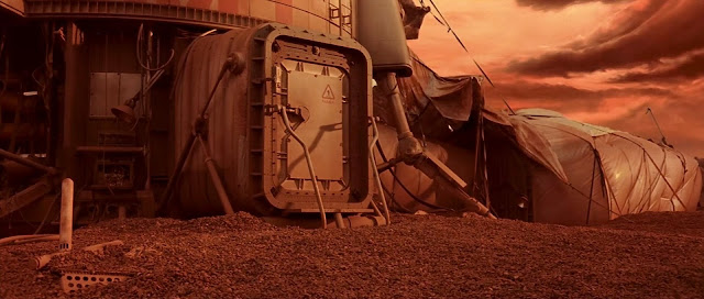 Abandoned Martian base - Mission to Mars movie image