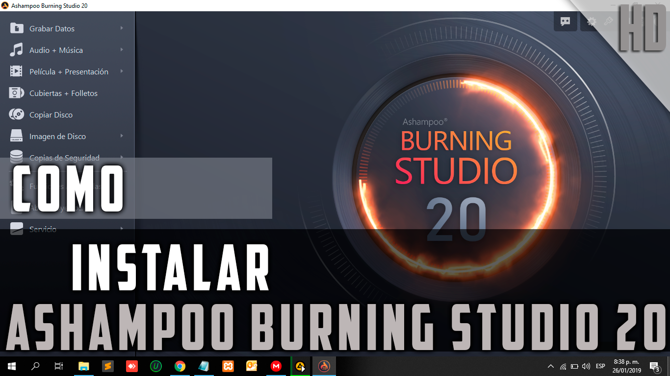 ASHAMPOO BURNING STUDIO V20