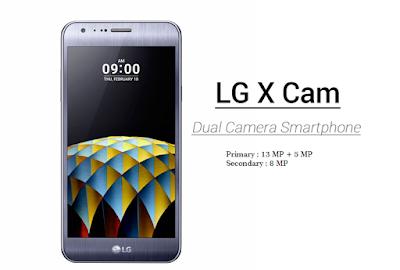 LG X Cam Dual Kamera - Harga dan Spesifikasi lengkap Terbaru 2016