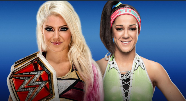 Alexa Bliss Vs Bayley WWE SummerSlam 2017