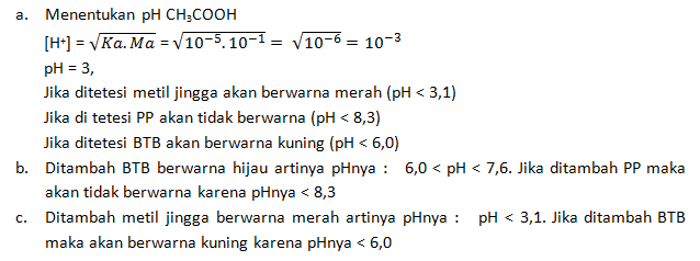 contoh soal indikator asam basa