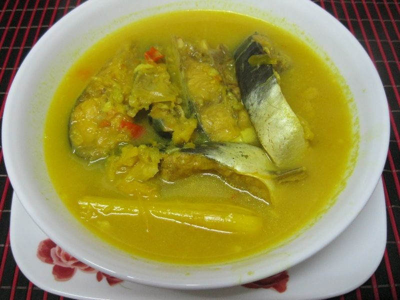 resep gulai asam pedas ikan patin