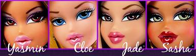 Roupa e Vestidos para Bonecas: Cloe, Jade, Sasha e Yasmin ...