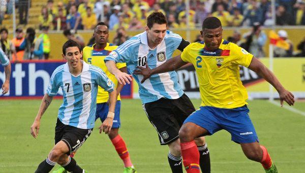 Ecuador vs Argentina EN VIVO por las Clasificatorias