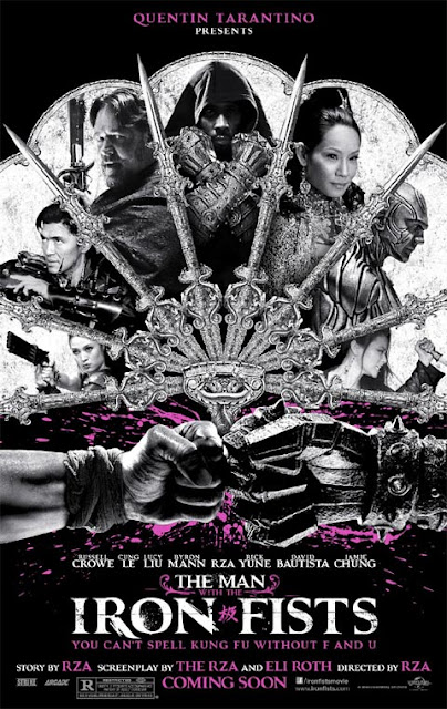 """Trailer & Poster for RZA's """"The Man with the Iron Fists"""""""