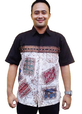 Foto Baju Batik Pria Modifikasi