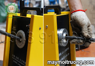 Cách sử dụng máy thông cống A96