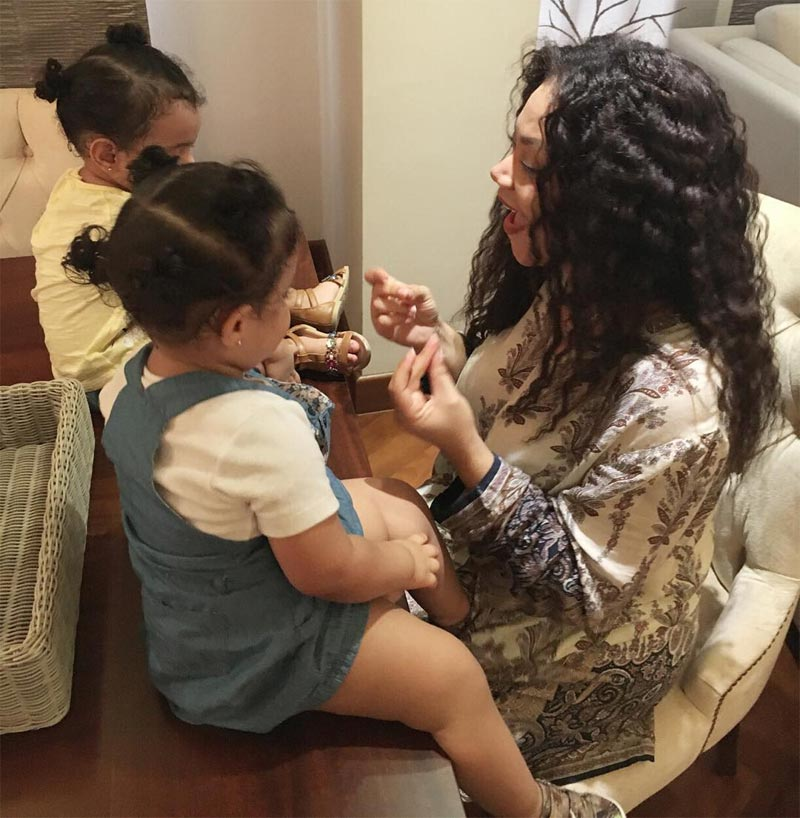 Nadia Buhari's twins are all grown up