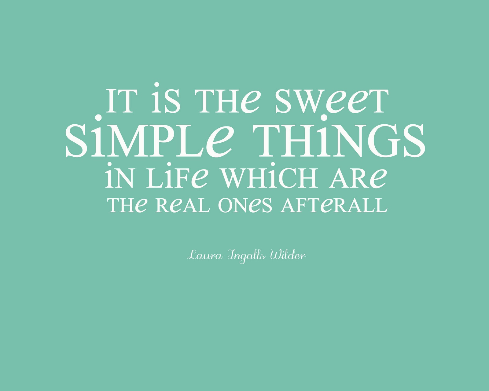 Quotes About A Simple Life