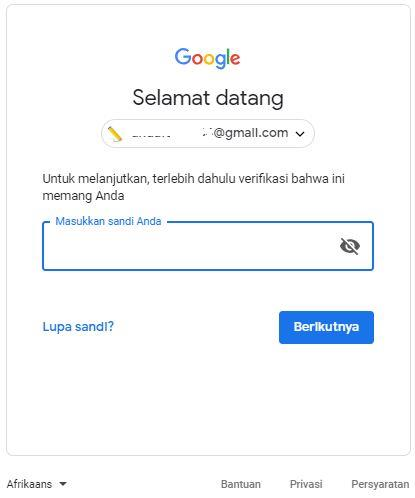 ganti password gmail terbaru mudah
