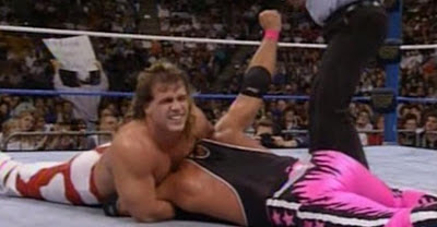 WWF (WWE) SURVIVOR SERIES 1992 - SHAWN MICHAELS BATTLES BRET HART FOR THE WWF TITLE