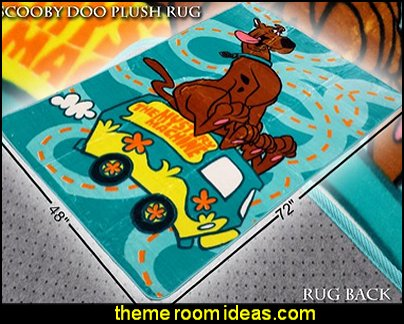 Scooby-Doo the Mystery Machine Area Rug