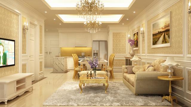 Thiết kế căn hộ cao cấp tại Vinhomes Trần Duy Hưng