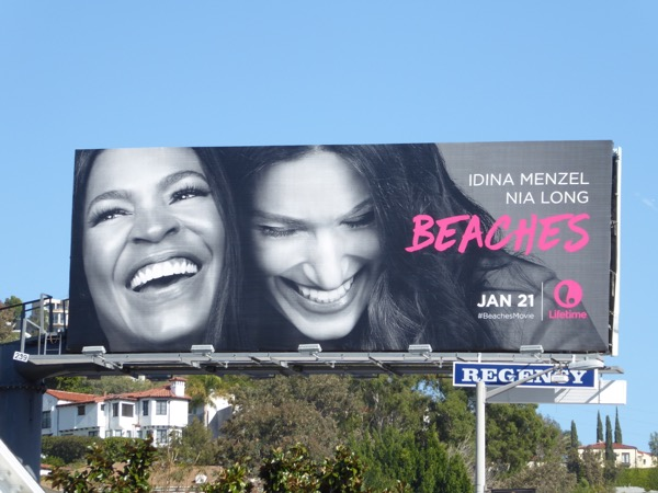Beaches TV movie remake billboard