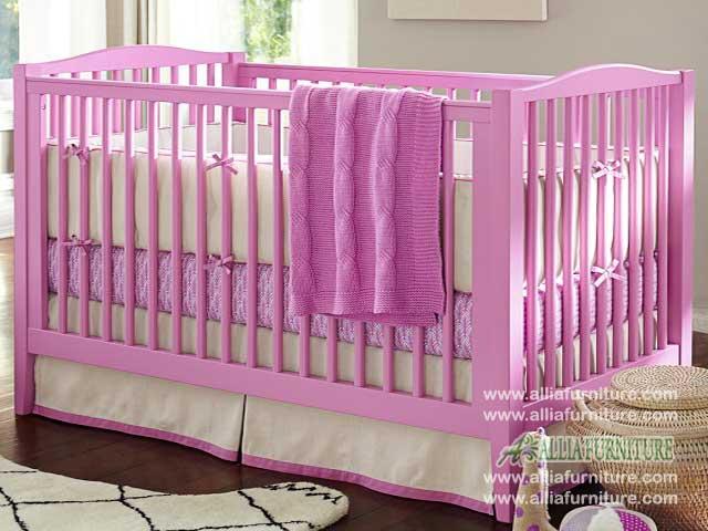 tempat tidur bayi balita model azalea