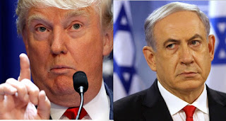 Donald Trump, Benjamin Netanyahu, Israel