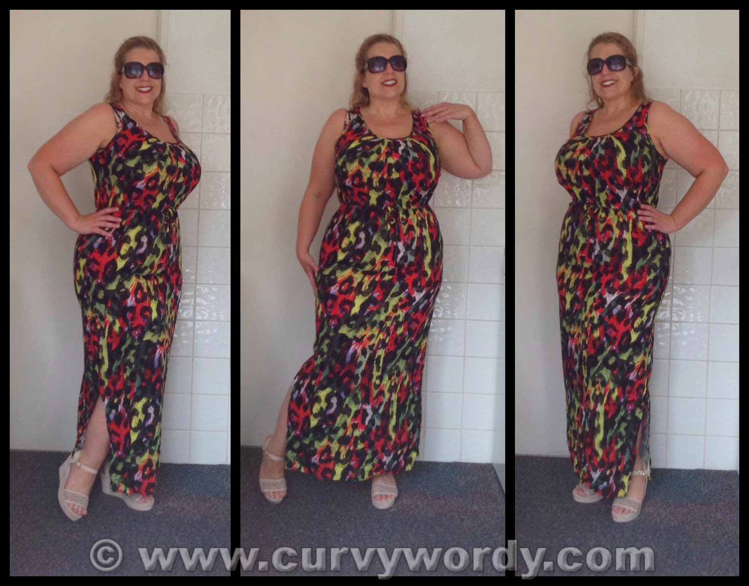 42ff5dd2b25 I very rarely bare my legs so it came as a surprise to me when I found  myself adding the Animal Print Maxi Dress (£12.00